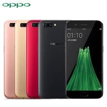 D'origine OPPO R11 Mobile Téléphone 5.5 pouce Écran 4 GB RAM 64 ROM Snapdragon 660 Octa base Android 7.1 20.0MP Double Caméra Smartphone