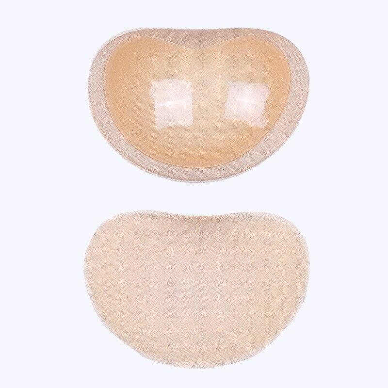 HTB1uMMIcDlYBeNjSszcq6zwhFXaw Bikini Push Up Padded Swimsuit Bikini Small Bust Thicker Breathable Sponge Bra Pad Invisible Paste Padding