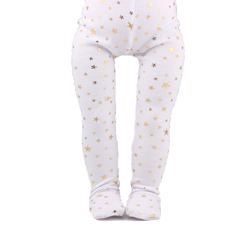 Accessories For Doll The Top Selling Gold Star Baby Doll Tights Leggings Clothes In-stock Now