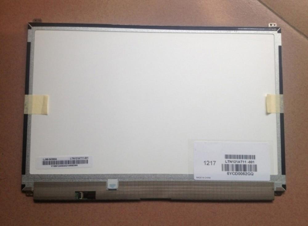 QuYing Laptop LCD Screen Matrix LTN121AT11-801 LTN121AT11 12.1 inch WXGA 1280*800 40PIN for toshiba matsushita ltd133ewdd wxga laptop lcd screen slim display lvds 1280 800