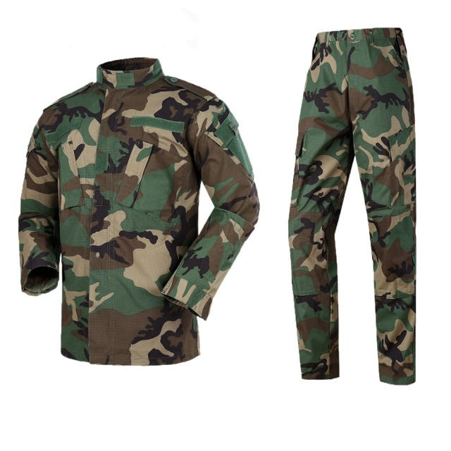 Black Military Uniform Camouflage Suit Tactical Military Airsoft Paintball Equipment Clothes 10