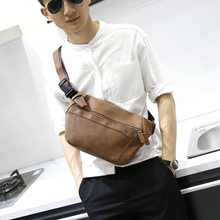 купить Xiao.p bag Brand 2017 NEW pu Leather Shoulder Bag Men Messenger Bags Zipper Design Men Commercial Briefcase CrossBody Bag дешево