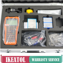 Handheld TUF-2000H Ultrasonic Digital Flowmeter DN15-700mm  TS-2 TM-1 Transducer Flow Meters