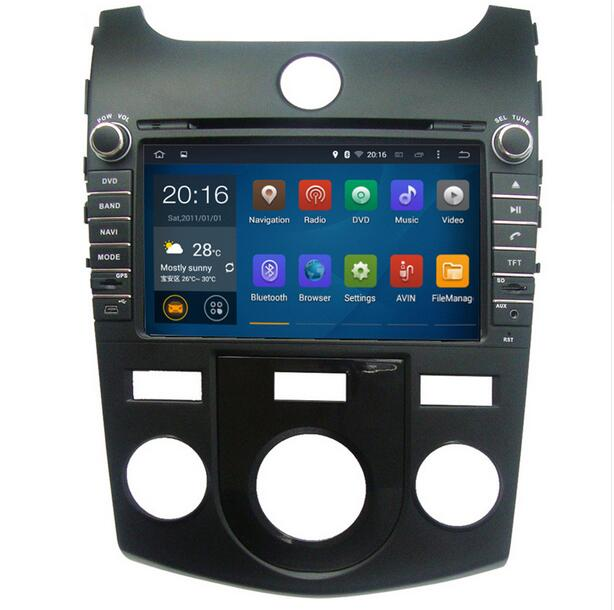 8 inch Android 9.0 System Car GPS Navigation DVD Player Radio Head Unit for Kia Forte Koup Cerato 2008 2012 stereo Multimedia