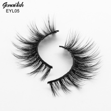 Genailish Mink Eyelashes 3D Eyelashes HandMade Thick Mink Lashes False Eye Lashes Gradually Long-EYL05