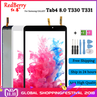 100%Test T331 For Samsung Galaxy Tab4 8.0 T330 T331 New LCD Display and touch Panel Screen Monitor Moudle Repair Replacement