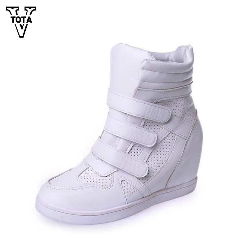 VTOTA Autumn Women Boots Ankle Boots Soft Shoes Woman Ladies Shoes Botas Mujer Casual Shoes Height