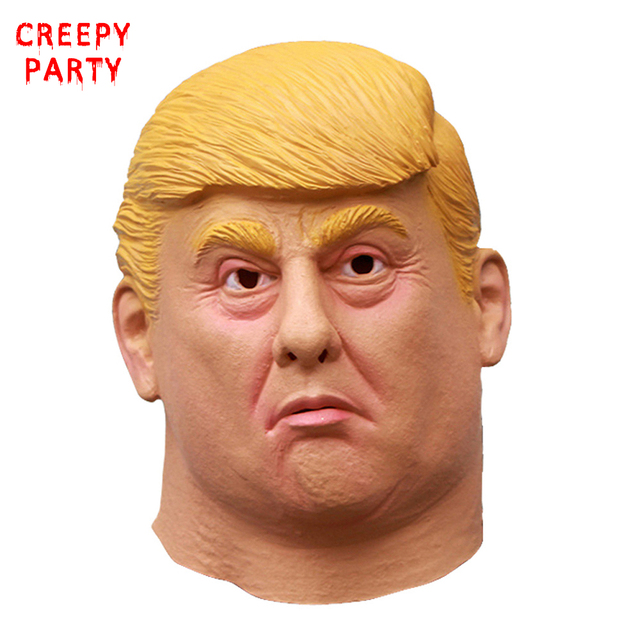 American President Donald Trump Mask Realistic Celebrity Full Face ...