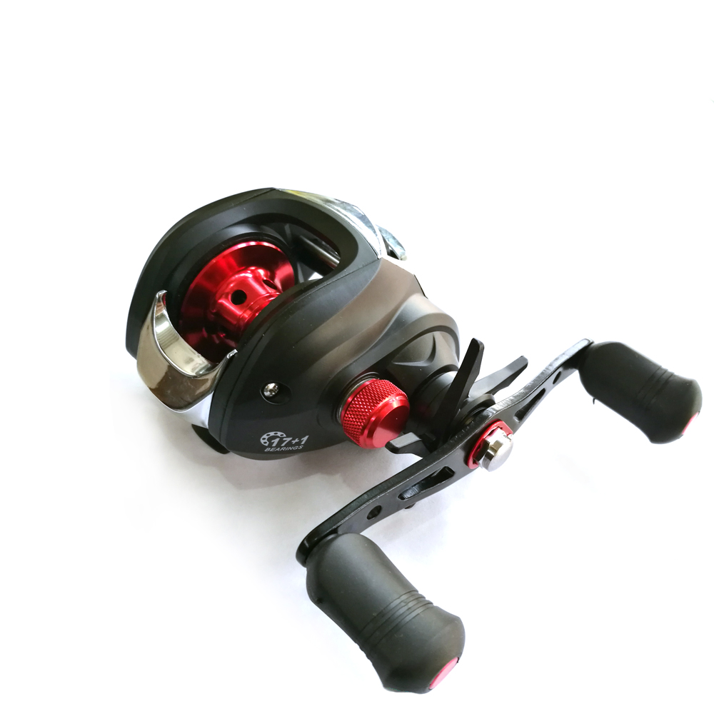9+1BB Fishing Reel Lightweight Casting Reel Magnetic Brake Baitcasting Reel