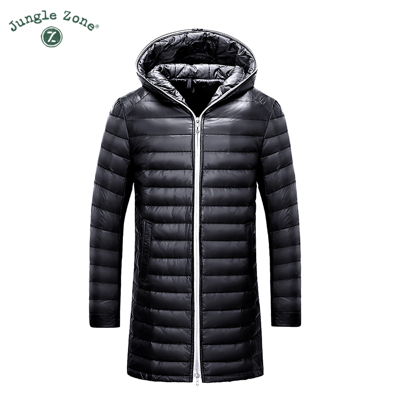 2017 Winter new Mens Down Jacket White Duck Down Jackets Casual mens Down Jackets Medium-Long Coats