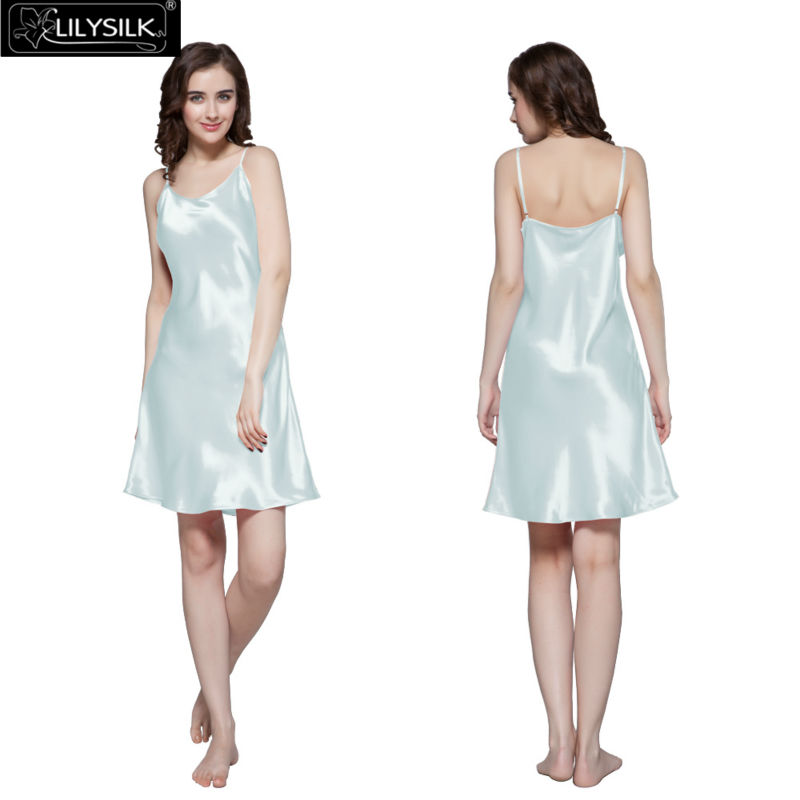 1000-light-sky-blue-22-momme-short-feminine-silk-nightgown