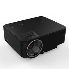 1500 Lumens LCD Projector 1080P HD Resolution Projection Multimedia Player Home Cinema Theater LED TV Laptop Projector
