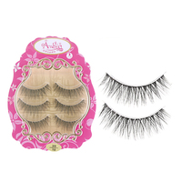 3 Pairs/set New Beauty 3D Thick Natural Cross False Eyelashes Cosmetic Black Long Eye lashes Makeup Tools Beauty False Eyelashes