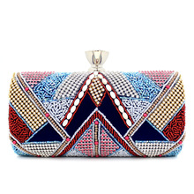 2016 Europe and the new national wind diamond evening bag high-end hand-beaded evening bag BB170