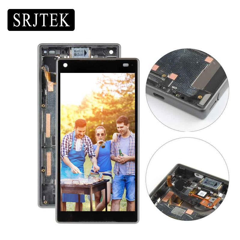 4.6'' LCD For SONY Xperia Z5 Compact LCD Display Z5 MINI E5823 E5803 Touch Screen with Frame Digitizer Replacement Part