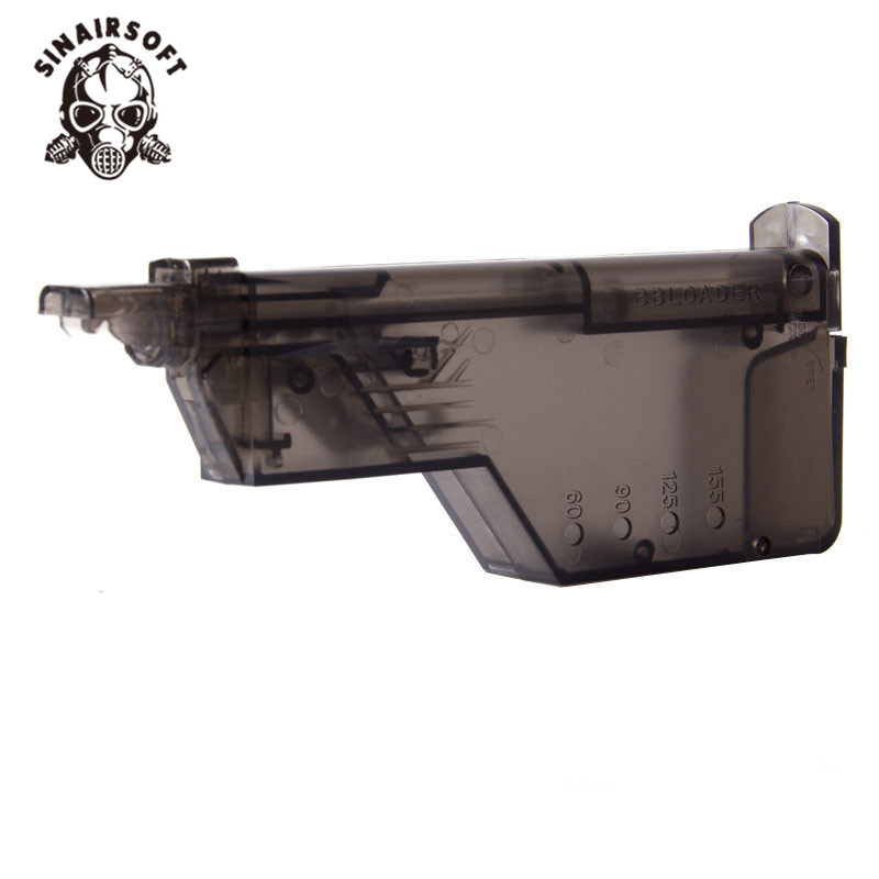 New Raptors Airsoft 220rd BB Speed Loader For Airsoft Guns LARGE AIRSOFT SPEED LOADER 220bb Capacity Hunting Gun Magazine#