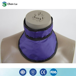Image 3 - Medical exposure radiation protection 0.35mmpb thyroid collar x ray protective radiological department accessories