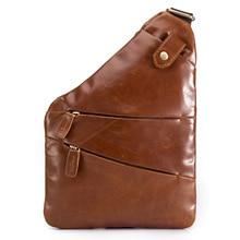 Ebay Amazon Oil Wax Retro Mad Horseback Mens Chest Covered Head Leather Tilt Factory Wholesale B624