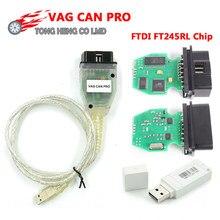 VA-G puede PRO puede BUS + UDS + K-line S.W versión 5.5.1 VCP escáner obd 2 escáner de diagnóstico de coche herramienta
