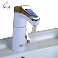 220v Instant Electric Water Heating Faucet Intelligent LCD Display Hot And Cold Water Faucet ZH SC