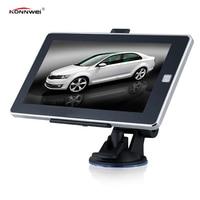 Hot 7 Inch HD Car GPS Navigation Bluetooth AV IN Capacitive Screen Lifetime Map