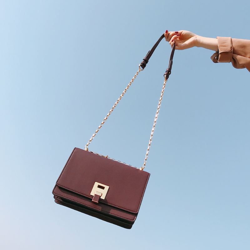 2018 sac à main femme Messenger sacs dame chaîne femmes mode sac à bandoulière en cuir fille sacs à bandoulière
