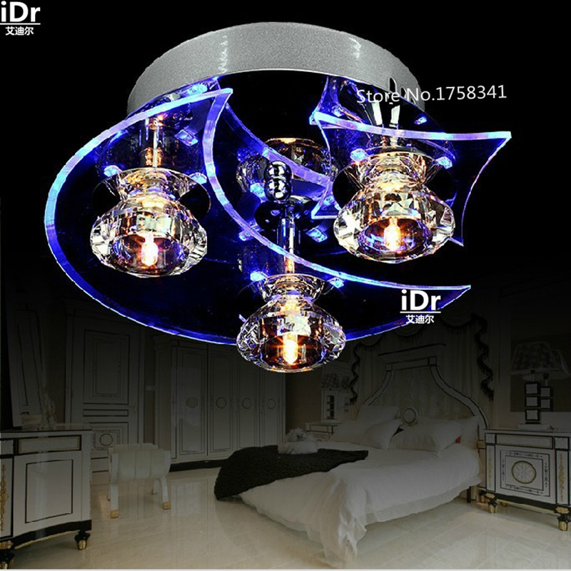 Free shipping Deluxe LED Modern Crystal Chandelier With 3 light Use for living room/Bedroom&CE ROSH free shipping cheapest fashion crystal chandelier modern for living room bedroom wholesale