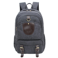 Factory Direct 2017 Creative Fashion Backpacks Retro Vintage Male Travel Backpack Large Capacity Canvas Shoulder Bag