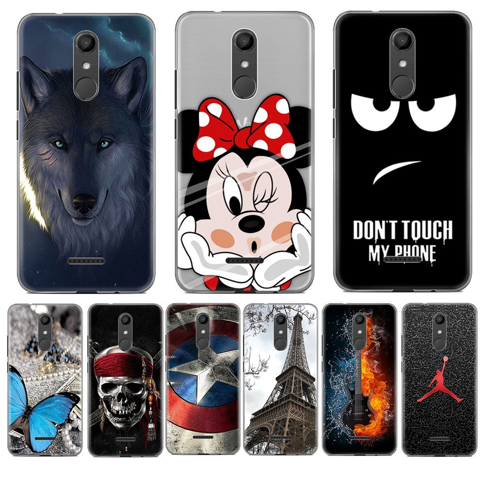 For Coque Wiko Upulse Lite 5.2inch Case Luxury Cartoon TPU Case For Wiko U pulse lite Soft Silicone Phone Protective Back Cover
