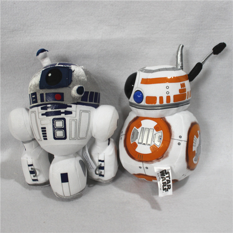 Gematigd 1 Stks Star Wars 7 Bb8 Knuffels Nieuwe De Force Ontwaken Bb-8 Droid Robot R2d2 Gevulde Doll Speelgoed Voor Kid