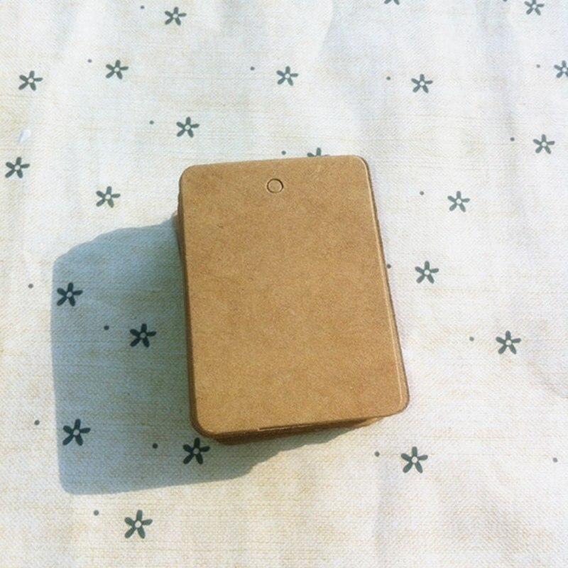 200PCS/LOT.Kraft paper blank cards,Handmade post card,DIY cards,Paper crafts.DIY scrapbooking Free shipping 35*50mm. 026011010