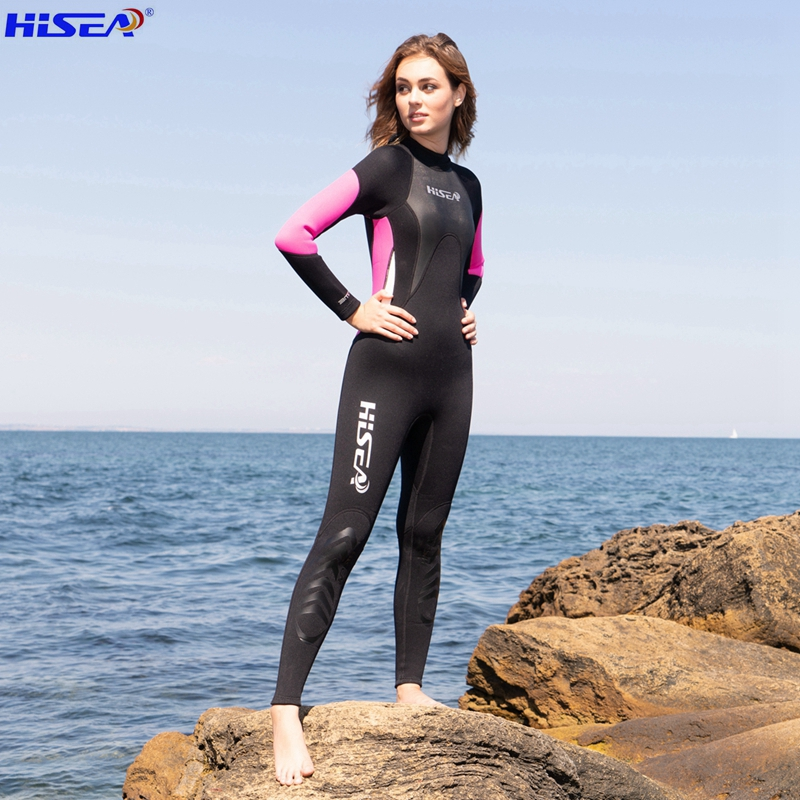 Hisea Professional 3mm կանանց Neoprene Wetsuit - Սպորտային հագուստ և աքսեսուարներ - Լուսանկար 3