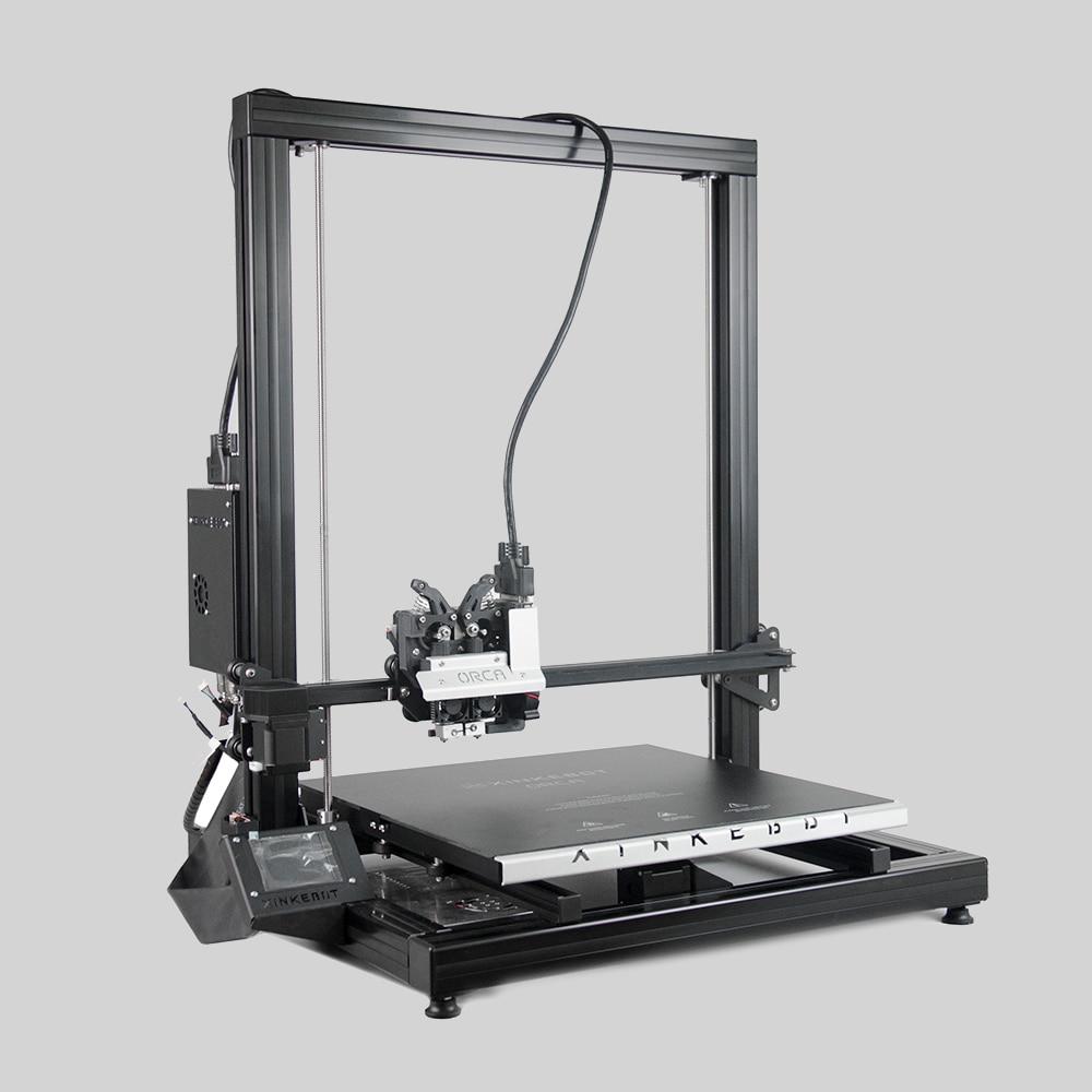 Xinkebot Orca 2 Cygnus большой 3D-принтеры 400x400x500 мм построить Размеры прямой привод Dual Head Алюминий тепла кровать Бесплатная доставка