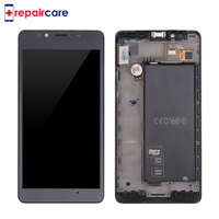 DHL For Microsoft Nokia Lumia 950 LCD Display Touch Screen Digitizer Assembly With Frame RM 1106