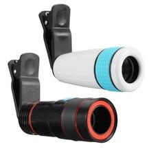 12x оптический зум объектив телескоп телефото телефон клипса для объектива камеры на универсальный для iPhone Android мобильный телефон Рыбалка глаз