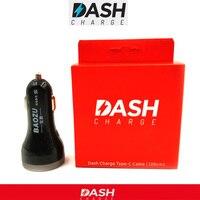 OnePlus 3 Dash Araç Şarj Çift Usb Hızlı Hızlı şarj Araba şarj & Orijinal Çizgi Şarj kablosu için bir artı 5/3 t Cep telefonu