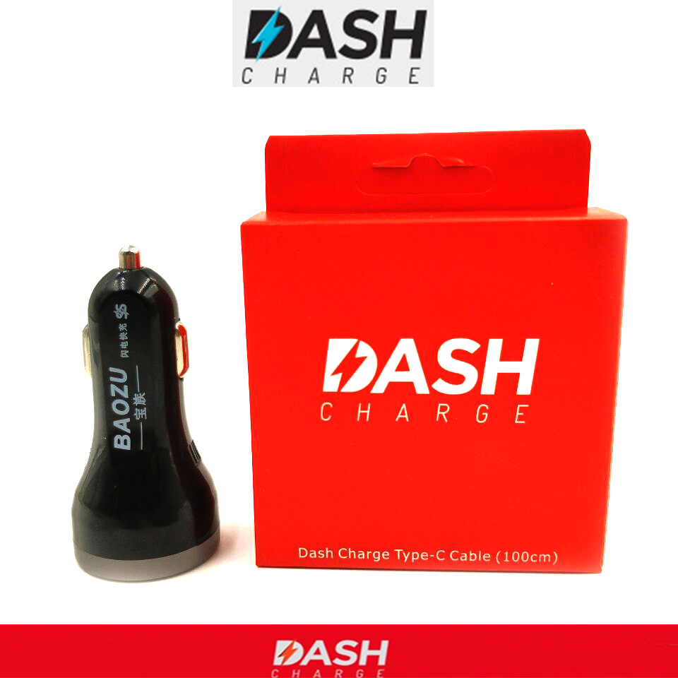 Car Charger Dash And Quick Charge