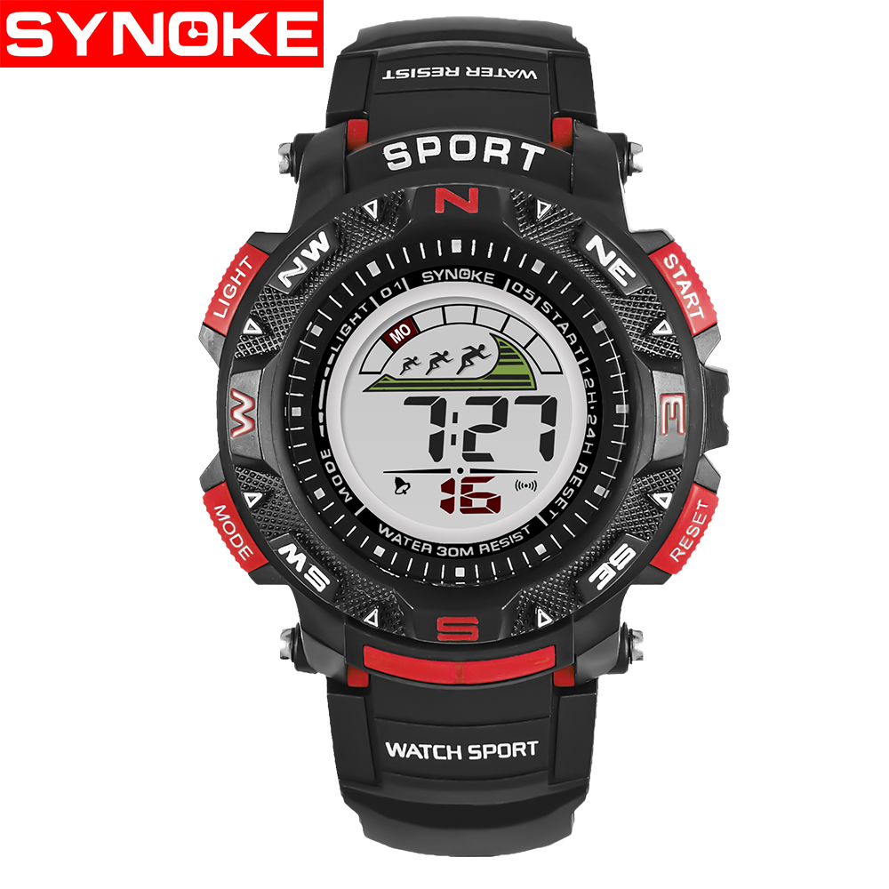 SYNOKE Kinderen LED Horloges Back Light Sport Kids Digital Horloges - Kinderhorloges - Foto 6