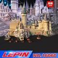 Lepin 16060 16001 Harry Film Potter Serie 71043 Hogwarts Castello Set Building Blocks Mattoni Bambini Giocattoli Casa Regalo Di Natale