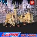 Lepin 16060 16001 Harry Film Potter Serie Die 71043 Hogwarts Castle Set Bausteine Ziegel Kinder Spielzeug Haus Weihnachten Geschenk