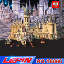 Лепин 16001 16060 Гарри фильм Поттер серии 71043 Хогвартс замок набор строительные блоки кирпичи дети игрушки дом Рождественский подарок