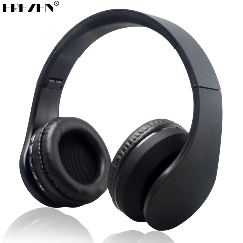 FREZEN K818 Wireless Headphones Bluetooth Upgrade V3.0+EDR Headset TF Card FM Radio For Mobile phone Laptop Foldable Earphone zealot b570 headset lcd foldable on ear wireless stereo bluetooth v4 0 headphones with fm radio tf card mp3 for smart phone