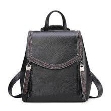 Female Waterproof Backpacks For School Teenagers Girls Luxury Small Leather Women Bags Anti Theft  Backpack Black Bagpack Travel