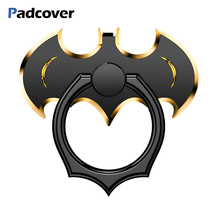 PADCOVER 360 Degree Rotate Holder Finger Ring  bat Mobile Phone Stand For Xiaomi/Huawei/iPhone All Smart