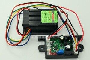 Image 4 - 12 v 532nm 50 mw ירוק DPSS לייזר דוט מודול מאוורר קירור TTL 0 30KHZ DIY מעבדה באיכות גבוהה