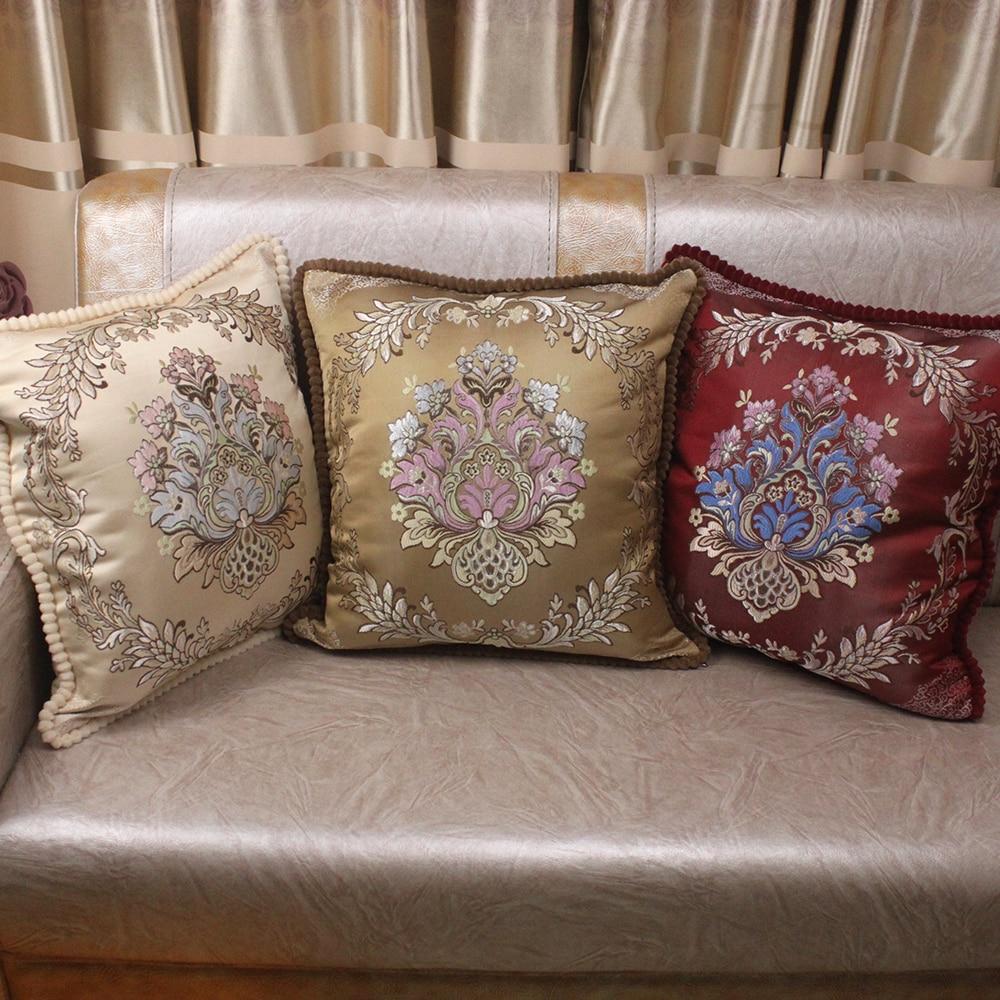 Decorative Pillow Cushion Covers 45x45cm Vintage Home Sofa