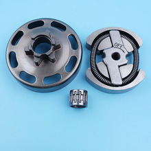 """3/8"""" 6T Clutch Drum Bearing Kit For Husqvarna 135 140 135E 140E e   Series Chainsaw Spur Bell Needle Cage Replacement Spare Part"""