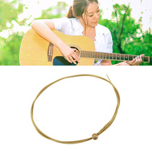 6pcs/set Acoustic Silver Gold color Steel Guitar Strings Hot Sale