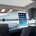 """7 """"-11"""" aluminio Soporte de Tabletas Asiento Trasero Del Coche de la Tableta Del Coche Montaje Del coche Del Soporte de Stents para ipad mini 2 3 4 air 2 para samsung xiaomi kindle"""
