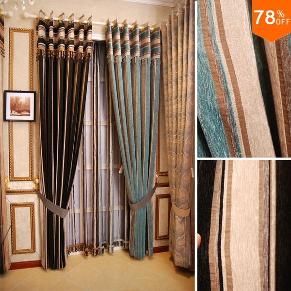 New Nice good Luxury modern quality finished product storage room curtain lines curtains Line geometry Curtains Hotel curtain